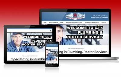 Website for plumbing company